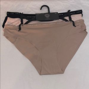 New Vince Camuto Womens 3 Pk Smooth Bikini Panties